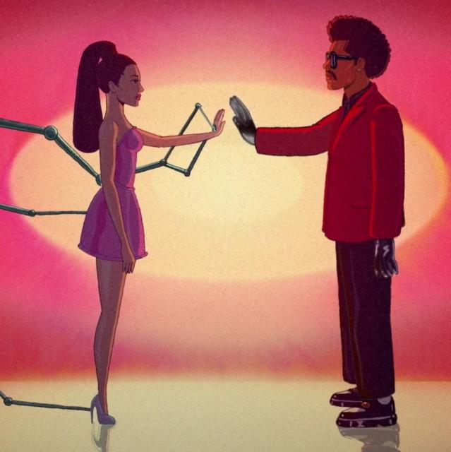 The Weeknd & Ariana Grande Save your tears